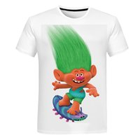 New children's clothing fantasy elf series. Youth printed short-sleeved 3D Harajuku cartoon T-shirt summer promotion fashion parent-child cl