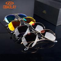 2020 Praça Metal Frame Eyewear Óculos de sol ao ar livre para mulheres dos homens Casual Primavera Leg Alloy Ciclismo Eye óculos polarizados Pilot Óculos Driving