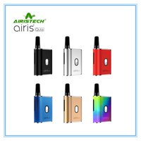 Original Airis Qute Wachs Vaporizer Kit 450mAh Variable Spannung VV Batterie Box Mod Konzentrat Patrone Vape Pen Kit Authentic