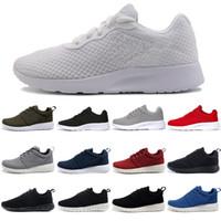 new arrival 8ab89 80431 Nike london ara hombre Zapatillas de deporte tanjun Negro blanco Rojo  Hombres Mujeres Zapatos para correr