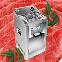 Hohe qualität Fleischschneider Edelstahl Vertikale Fleischschneider Kommerziellen Fleischschneidemaschine Abnehmbare Klinge 2200 Watt 220 kg / std