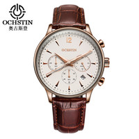 Relojes 2019 Hot Sale Men' s Quartz Watches Leather Stra...