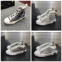 B23 Sneakers High Top Casual 19SS Flores Técnico Platform Shoes B23 Moda Sneakers Trainers melhor presente de luxo Shoe Casual