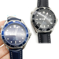 AAA+ Luxury Mens Professional 300m Black Blue Dial Sapphire ...