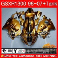 신체의 Suzuki Glossy Golden Hayabusa GSXR 1300 GSXR1300 96 02 03 04 05 07 07 24hc.5 GSX R1300 1996 2002 2003 2003 2004 2006 2007 Fairing