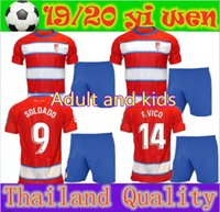 Adult and kids 19 20 Granada soccer jerseys 2019 2020 home a...