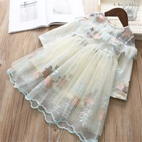 0- 6 years High quality girl dress 2019 spring new fashion ca...