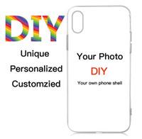 Настраиваемый дизайн DIY Logo / Фото Жесткого чехол для телефона 5 5S SE 6 6S 7 Plus Customized печатной задней крышки