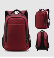 """Zaino da viaggio di grande capienza adolescente maschio Mochila Torna antifurto Borsa 17,3"""" backbags impermeabili Laptop Backpack"""