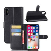 Luxury Wallet Case With Cardholder for iPhone XR XS MAX 8 7 ...
