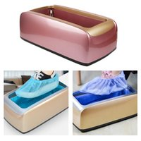 Automatic Shoe Cover Dispenser Machine Hands Free Portable O...