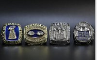 Atacado Super Bowl 1986 1990 2007 2011 Giants campeão Ring Set