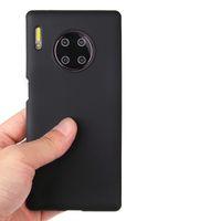 Конфеты цвет тонкий матовый матовый мягкий TPU гель силиконовая резина чехол для Huawei Honor 20 Pro 10 Lite Примечание 10 V30 V20 9X 8C 6C 8A 8s Play 3