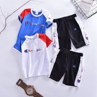 Two Piece Outfits Children' s Garment Suit Children Pant...