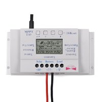 Freeshipping LCD 40A 12 V / 24 V MPPT Streetlight Üçlü Solar Şarj Kontrolörü ile 5 V USB