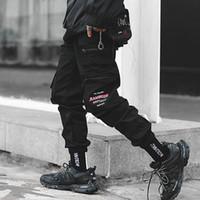 Septhydrogen Marken-Männer Cargohose Street Männer Hip Hop Schwarz-Bleistift-Hosen Taschen Harem Joggers Frühlings-Mode-Männer Haremshose