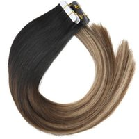 50gram 20pcs Tape In Human Hair Extensions Balayage Ombre Co...