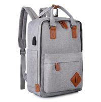 NUOVA FAMIGLIA zaino Casual Travel Capacity 16L moda Schoolbags con borse di marca di alta qualità per gli adolescenti più foto invia messa