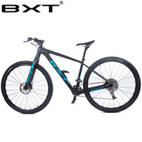 "BXT 29inch углеродного волокна Горный велосипед 1 * 11 Speed Double Disc Brake 29"" MTB Мужчины велосипед 29er колесо S / M / L кадр полный велосипед"