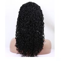 100% human hair lace wigs full lace front lace wigs Curly 8-...