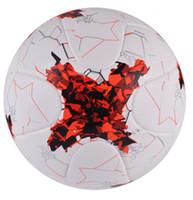 Partido de fútbol profesional Tamaño Oficial 4 Tamaño 5 balón de fútbol de la PU Premier de fútbol bola de los deportes Entrenamiento de Fútbol Futbol bola
