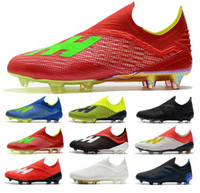 2019 Fashion Mens Ace 18 Purechaos FG soccer shoes World Cup...