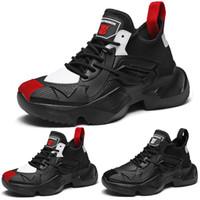 Ayakkabı Tasarımcısı eğitmenler Spor Spor ayakkabılar Running Platformu sneaker pattern1 yumuşak beyaz siyah, kırmızı dantel yastık genç ERKEKLER çocuğu Damla nakliye