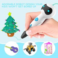 Newest 3D printing pen 3D pen with voice broadcast function ...
