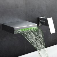 Washbasin Design Bathroom Faucet Mixer Waterfall Hot & Cold ...