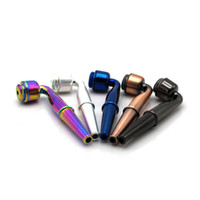 Nuovo metallo della lega di marca Smoking Herb tubo 95MM metallo fornello della pipa staccabile tabacco da pipa pipe di tabacco VT0181