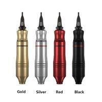 وشم القلم الدوار رشاش قابل للتعديل الإبرة طول سبيكة الألومنيوم الكهربائية Rca الوشم آلة البيع بالتجزئة