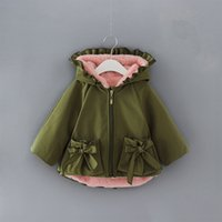 Baby Girls Coat Winter Hooded Kids Clothing Children Parkas ...