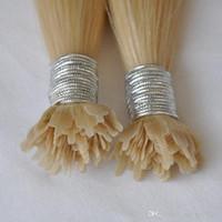 CE certificate100% cabelo humano 200g 1g / fio de cabelo extensões nano plana ponta brasileira ponta plana Nano extensões do cabelo