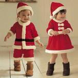 New Arrival Hot Sale Christmas Costumes For Children Santa C...