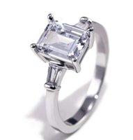 Lady anelli di nozze semplice set di gioielli di New Trendy Moda Sposa Anniversario modo dell'anello di amore Token superiore di nuovo