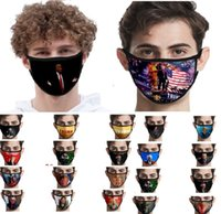 Ice Silk Face Masks Trump American Election Supplies Dustpro...