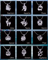 18KGP Moda Sinais do zodíaco pingente de Montagens, doze constelações Estilo Pérola / jóia pérolas gaiola Medalhões Diy afortunado do encanto da jóia
