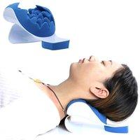 Boyun Desteği Gevşetici Omuz Kayropraktik Yastık Traksiyon Sedye Cihaz Servikal Omurga Tedavi ve Omurga Hizalama yardımcı olur