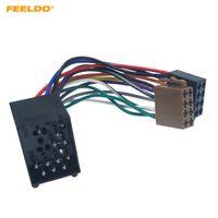 FEELDO Araba Radyo Kadın ISO Adaptör Wring Harness Kablo İçin BMW E31 / E32 / E34 / E36 / E38 / E39 / E46 / Z3 / Mini # 6256