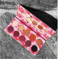 في المخزن!! 10 ألوان ماكياج جديد ظلال العيون لورا لي لوس انجليس القط صبغات لوحة ظلال العيون وميض