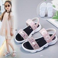 2020 yüksek kaliteli çocuk moda sandalet kızlar elmas prenses ayakkabı rahat kaymaz düşük fiyat satış 2 renk ücretsiz kargo