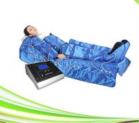 1 병원 스파 림프 배수 프레스 요법 공기 압력 마사지 슬리밍 공기 압력 기계에 3