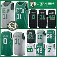 37b93fc96 Top quality Boston Jersey Celtic 11 Kyrie Jayson Irving 0 Tatum Gordon 20  Hayward Jaylen 7 Brown Al 42 Horford Terry 12 Rozier III CIty