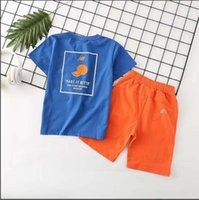 Kinderkleidung Baby Shorts Designer Set Sommer Cute Fashion Boy Top Tees Mädchen Shorts Unisex T-Shirts Zweiteiler 2019 Luxus Kinderkleidung