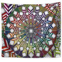8 Style Duvar Goblen Çiçek Asma Halı Battaniye Polyester Yatak örtüsü Masa Örtüsü Boho hippi Havlu Yoga Minderi RRA2343