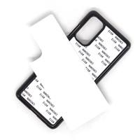 DIY Sublimation Wärmepresse PC-Abdeckungsfall für Samsung Galaxy S20 Plus S20 Ultra A01 A20E A21 A51 A71 A81 A10 A30 A50 A60 A80 100pcs / lot