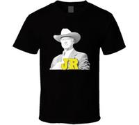 7acf138b2 New Arrival. JR Ewing Larry Hagman Dallas Black T ShirtFunny free shipping  Unisex Casual Tshirt