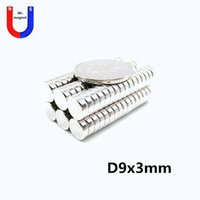 100pcs Hot sale small rice 9x3 magnet 9*3mm for artcraft D9x3mm rare earth magnet 9mmx3mm 9x3mm neodymium magnets 9*3 free shipping