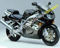 900RR Motorcykel Tillbehör till Honda Fireblade CBR900RR 919 1998 1999 CBR900 CBR 900 RR 98 99 ABS FAIRING KIT Grå svart silver