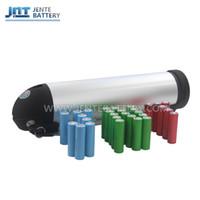 Freies verschiffen 24 v lithium-batterie für elektrische fahrrad 15ah flasche lithium-li-ion-akku für 350 watt 250 watt bike motor + 2A ladegerät